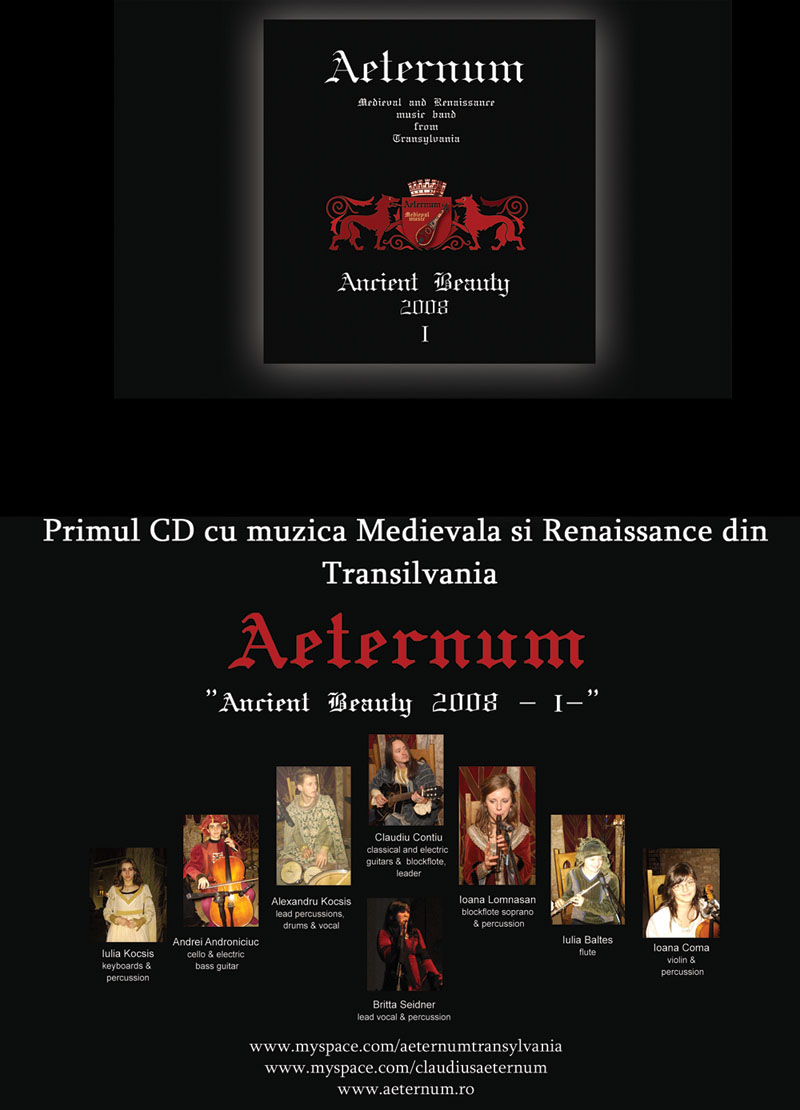 aeternum ancient beauty cd